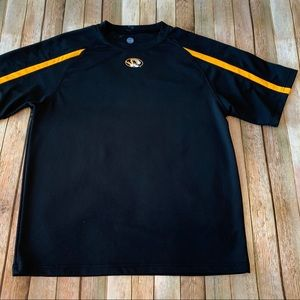 NCAA men's short sleeved Mizzou Tigers tee shirt